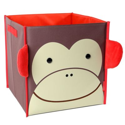 SKIP*HOP® Zoo Monkey Large Canvas Storage Bin