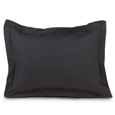 Smoothweave™ Tailored European Sham in Black