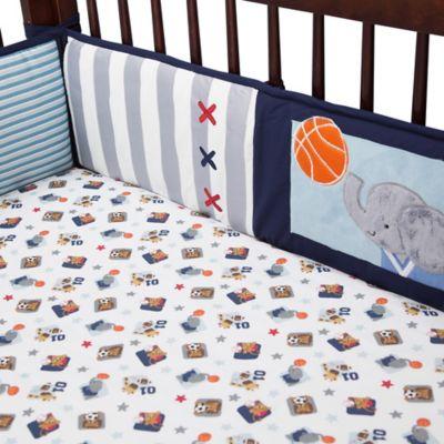 Lambs & Ivy® Future All Star 4-Piece Crib Bumper