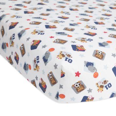 Crib Sheet Sets > Lambs & Ivy® Future All Star Fitted Crib Sheet