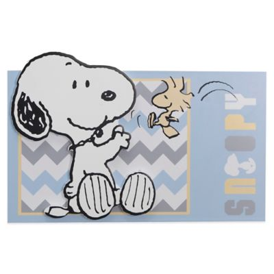 Lambs & Ivy® My Little Snoopy™ Wall Hanging
