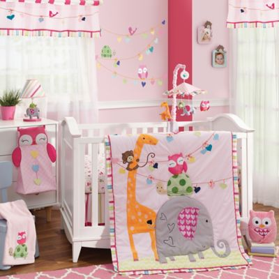 Lambs & Ivy® Sprinkles 4-Piece Crib Bedding Set