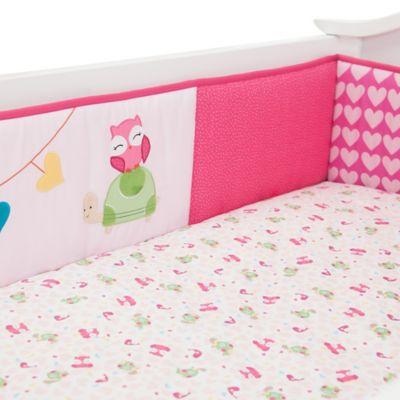 Lambs & Ivy® Sprinkles 4-Piece Crib Bumper