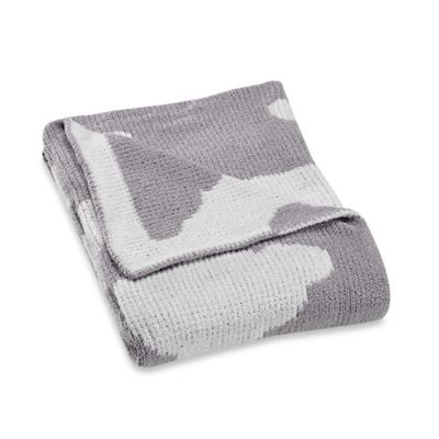 Just Born® Clouds Chenille Sweater Blanket in Grey