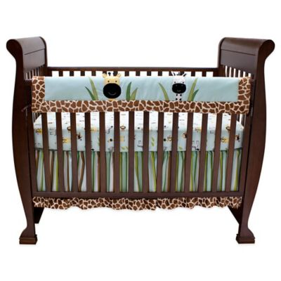 Lambs & Ivy® Peek-a-Boo Jungle Crib Rail Cover