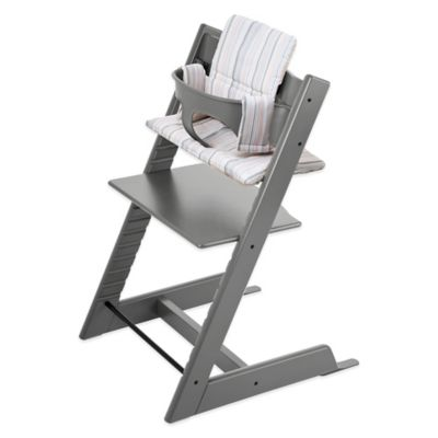 Stokke® Tripp Trapp® High Chair Complete Bundle in Grey