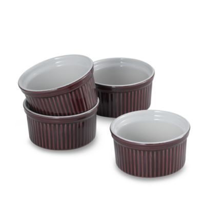 Emile Henry 6-Ounce Ramekin in Figue (Set of 4)