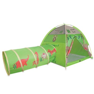 Pacific Play Tents Safari Play Tent with Tunnel