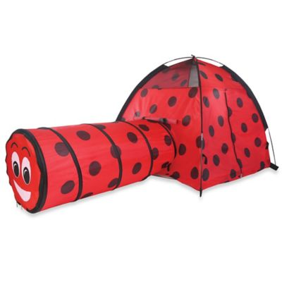 Pacific Play Tents Ladybug Play Tent with Tunnel