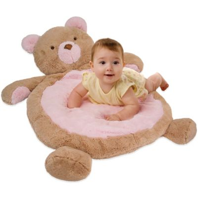 Mary Meyer® Best Ever Bear Baby Mat in Pink