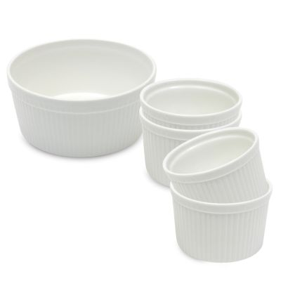 Maxwell & Williams™ White Basics 5-Piece Soufflé Set