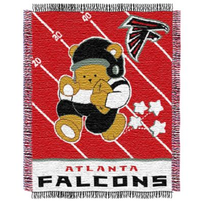 NFL Atlanta Falcons Woven Jacquard Baby Blanket/Throw