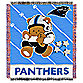 NFL Carolina Panthers Woven Jacquard Baby Blanket/Throw