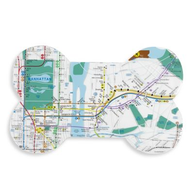 Subway System Dog Placemat