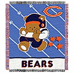 NFL Chicago Bears Woven Jacquard Baby Blanket/Throw