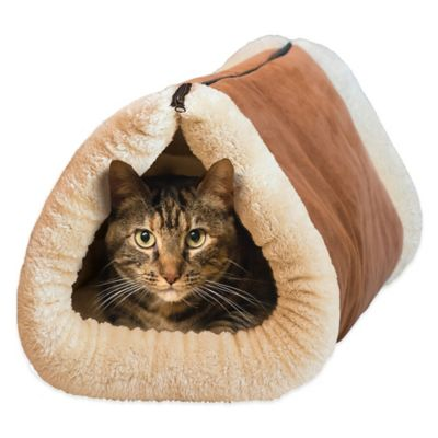 Kitty Shack™ 2-in-1 Tunnel Bed and Pet Mat