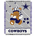 NFL Dallas Cowboys Woven Jacquard Baby Blanket/Throw