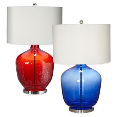Pacific Coast Lighting Blue Table Lamp