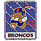 NFL Denver Broncos Woven Jacquard Baby Blanket/Throw
