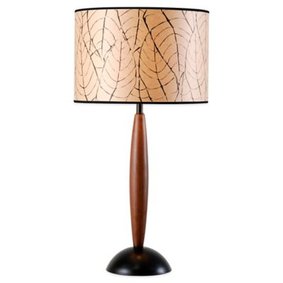 Kenroy Home Honduras Table Lamp in Tobacco