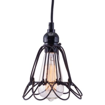 Zuo® Pure Hastings Ceiling Lamp in Distressed Black