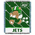 NFL New York Jets Woven Jacquard Baby Blanket/Throw