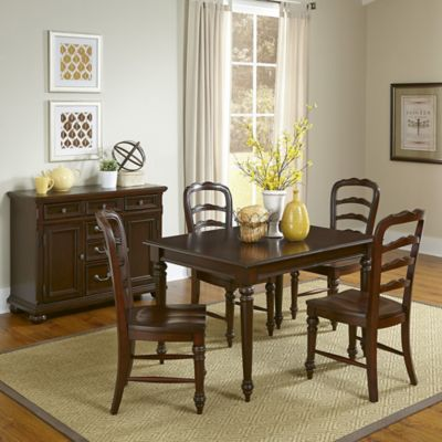 Home Styles Colonial Classic 6-Piece Dining Set