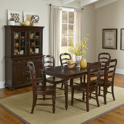 Home Styles Colonial Classic 9-Piece Dining Set