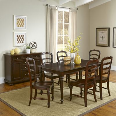 Home Styles Colonial Classic 8-Piece Dining Set