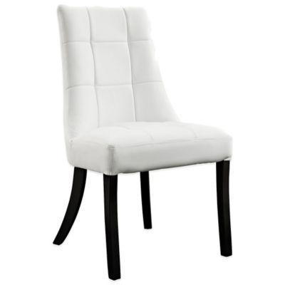Modway Noblesse Dining Side Chair in White