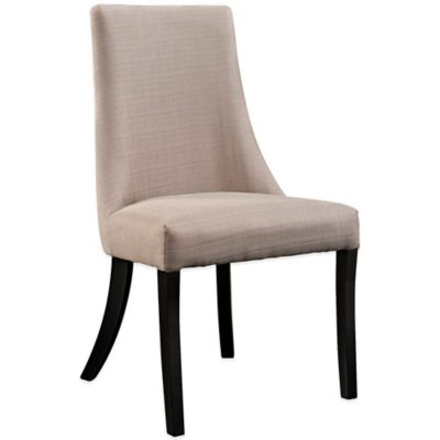 Modway Reverie Dining Side Chair in Grey