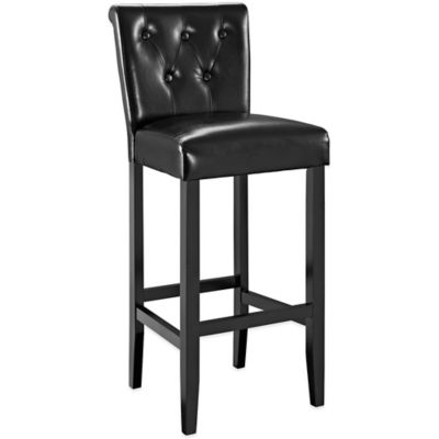 Modway Tender Barstool in Black
