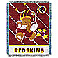 NFL Washington Redskins Woven Jacquard Baby Blanket/Throw