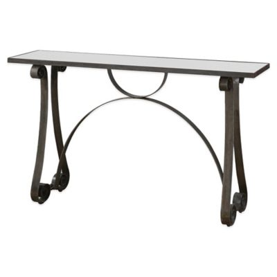 Uttermost Rusul Iron Console Table