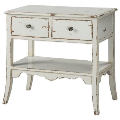 Uttermost Varali Accent Table in Pale Grey