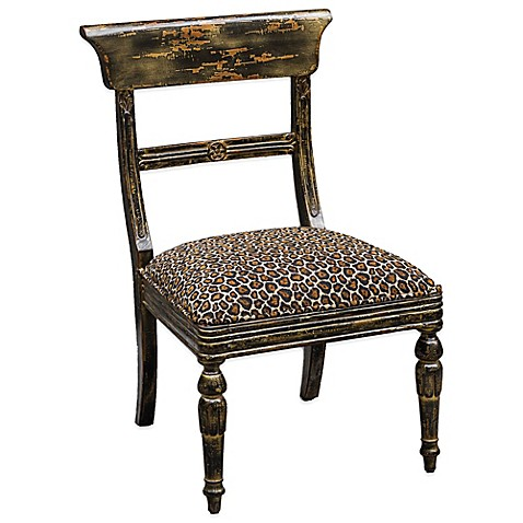 Buy Uttermost Tambra Leopard Print Accent Chair From Bed