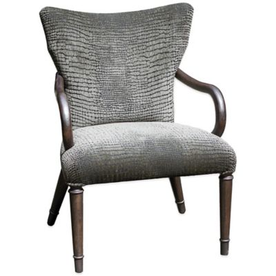 Uttermost Lagan Reptile Pattern Accent Chair