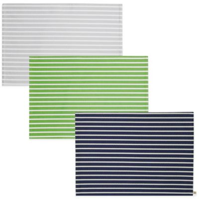 kate spade new york Harbour Drive Placemat in Platinum