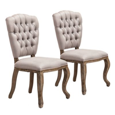 Zuo® Eddy Dining Chairs in Beige (Set of 2)