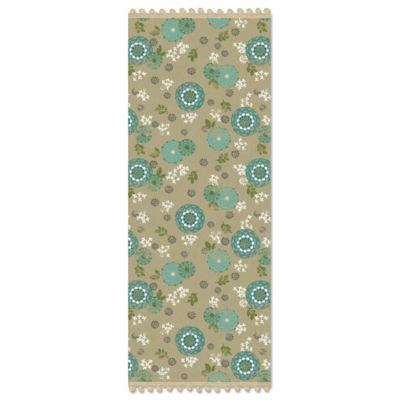 Heritage Lace® Zinnia 14-Inch x 36-Inch Table Runner in Grey