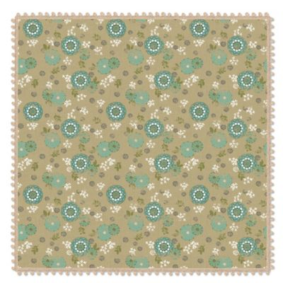 Heritage Lace® Zinnia 36-Inch Table Topper in Green