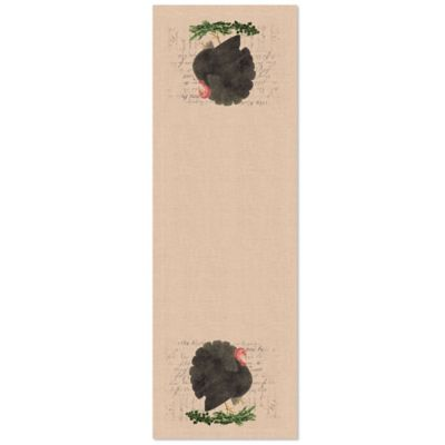 Heritage Lace® Thanksgiving Turkey 48-Inch Table Runner