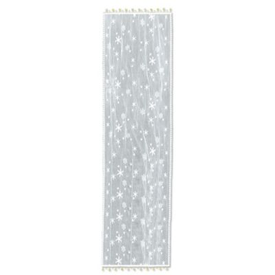 Heritage Lace® Wind Chill 14-Inch x 36-Inch Table Runner in White