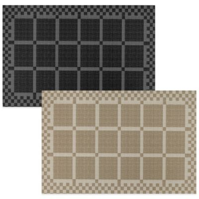 Mohawk Checkerboard Placemat in Neutral