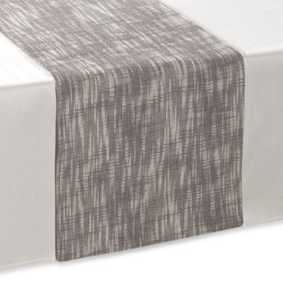Chatsworth 90-Inch Table Runner in Grey