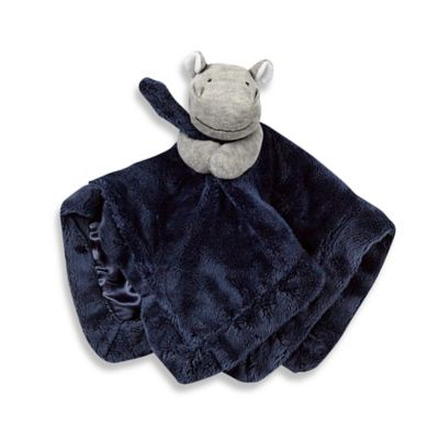 Carter's® Hippo Security Blanket in Blue