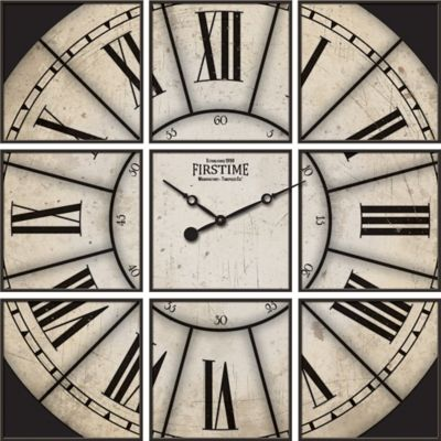 FirsTime® Corbin Studio Wall Clock