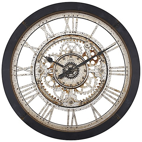 Antique Gear Wall Clock Bed Bath Amp Beyond