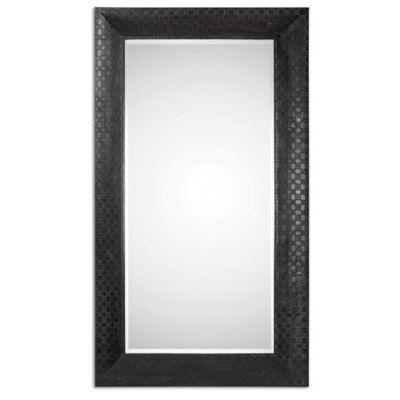 Uttermost Scarlino 42-Inch x 72-Inch Oversized Mirror in Black