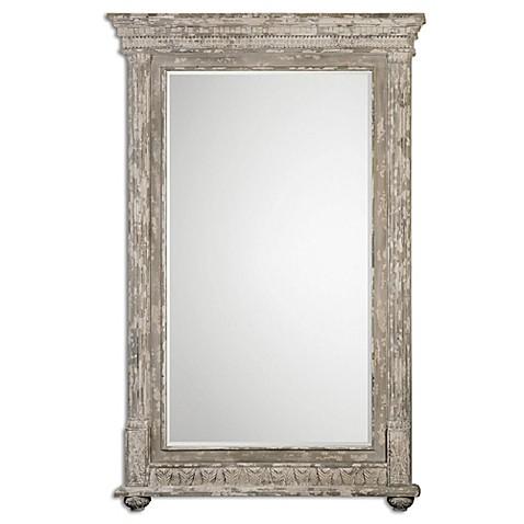 Uttermost arenzano 60 inch x 90 inch oversized mirror in for Mirror 90 x 90